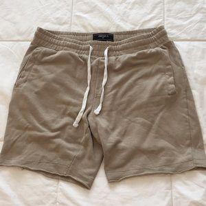 Men's Tan Forever 21 Sweat shorts